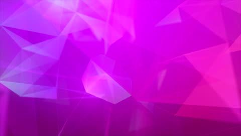 vídeos y material grabado en eventos de stock de multi color forma del triángulo fondos abstractos - fondo colorido