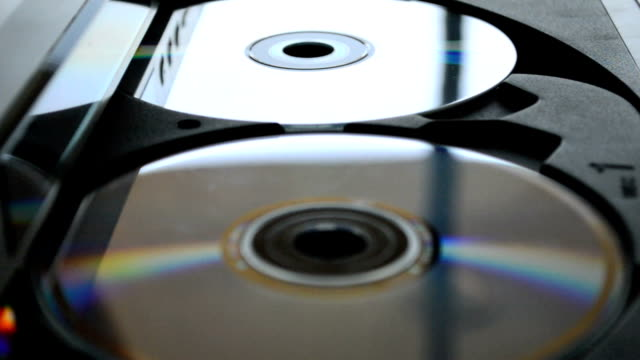 multi disk player - dvd player stock videos & royalty-free footage