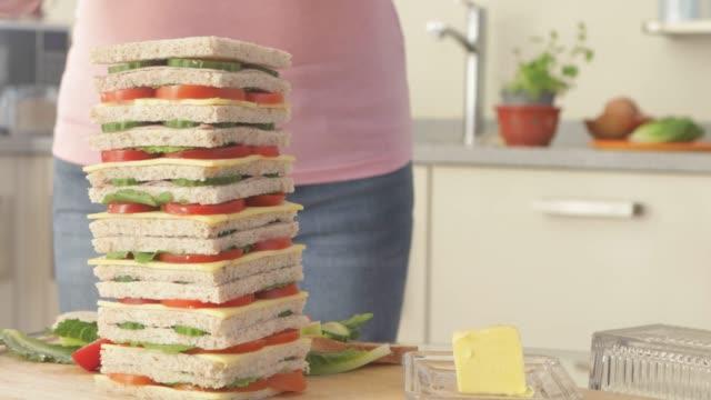 vidéos et rushes de sandwich multicouche - couches superposées