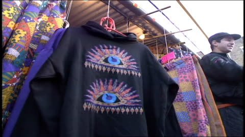 multi patterned clothing in london - 1990 stock videos & royalty-free footage