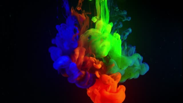 multicolor liquid flow - 4k resolution stock videos & royalty-free footage