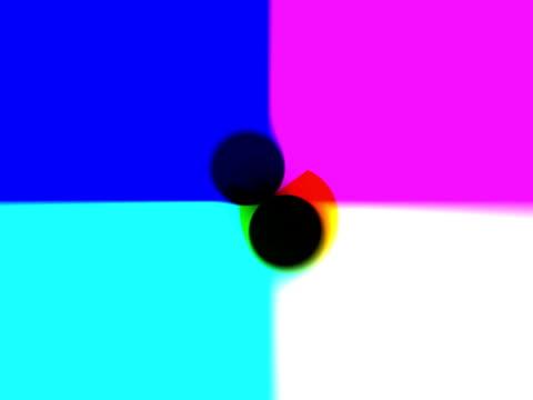 vídeos de stock, filmes e b-roll de cgi, multicolored abstract pattern - concêntrico