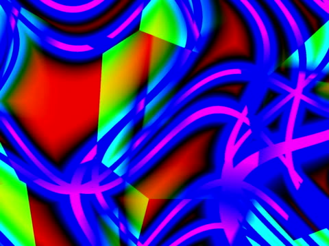 cgi, multicolored abstract patterns - intricacy stock videos & royalty-free footage