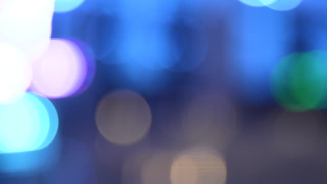 multicolored bokeh lights - visual impairment stock videos & royalty-free footage