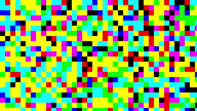 multicolored digital squares background - pixellated stock videos & royalty-free footage