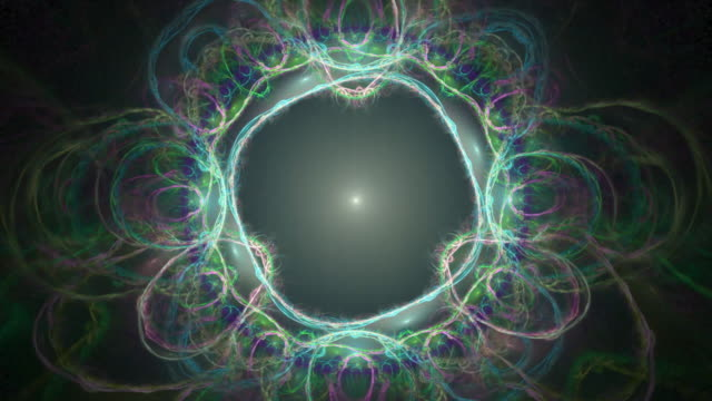 multi-colored high resolution fractal video. - gray color stock videos & royalty-free footage
