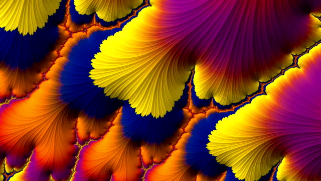 multicolored psychedelic motion background like steam of lava - floral pattern stock videos & royalty-free footage