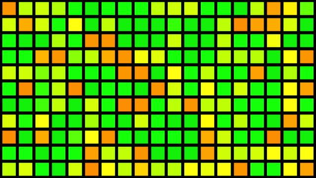 mehrfarbige raster - auf den zehenspitzen stock-videos und b-roll-filmmaterial