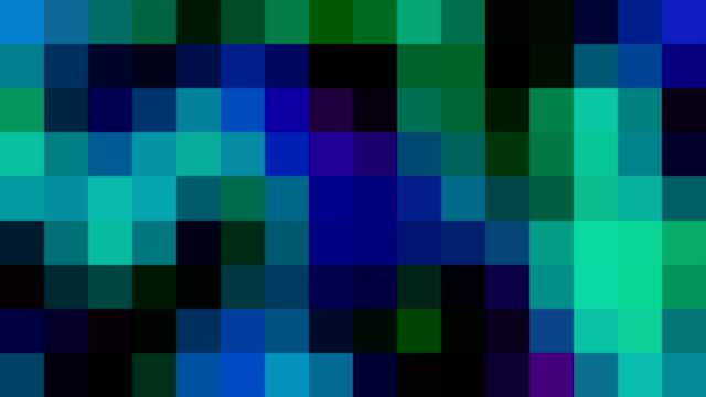 Multicoloured Squares (Subtle) | With Random Flicking Effect