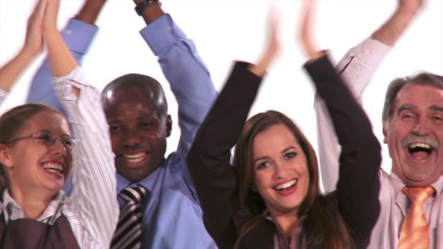 HD: Multi-Ethnic Business Team