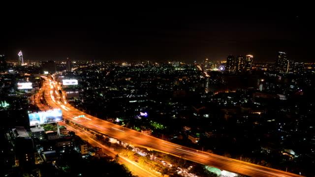 Multiple Lane Highway At Night