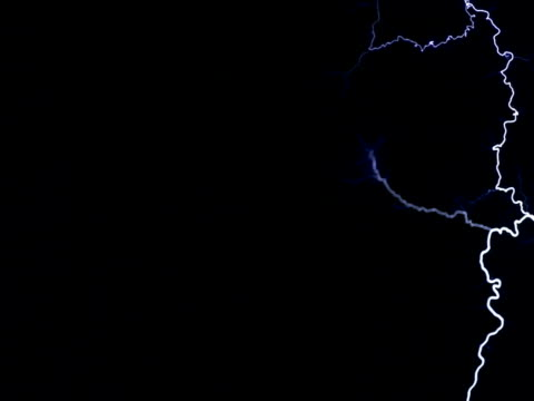 multiple, layered, branching arcs in ultra slow motion - tesla coil stock videos and b-roll footage