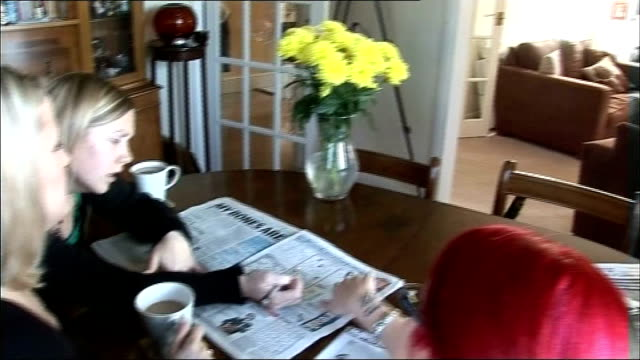 multiple sclerosis breakthrough howard doing newspaper crossword with friends - crossword stock videos and b-roll footage