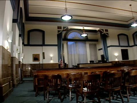 multiple - court room点の映像素材/bロール