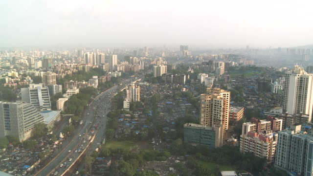 mumbai city view - wide stock-videos und b-roll-filmmaterial