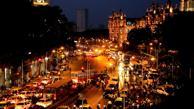 Mumbai India Asia Chhatrapati Shivaji Terminus