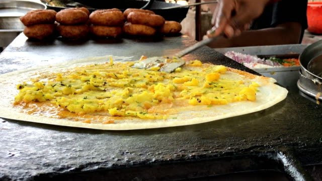 mumbai street food - street food stock videos & royalty-free footage