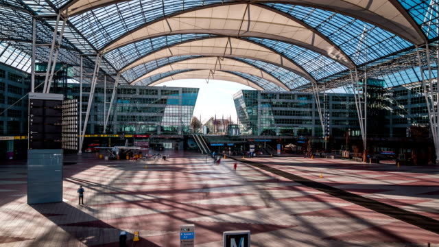 Munich Airport Hyperlapse
