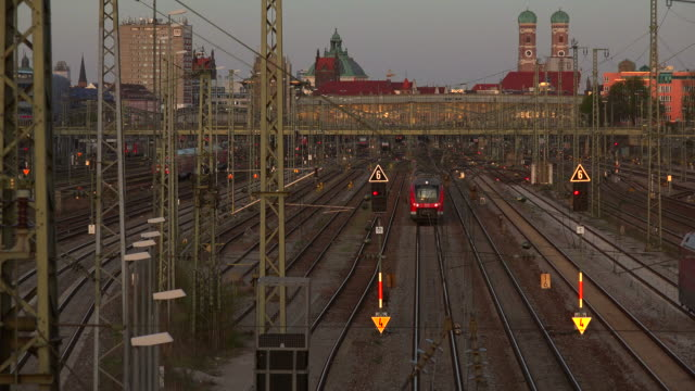 Munich Central Railway Station, Munich, Bavaria, Germany