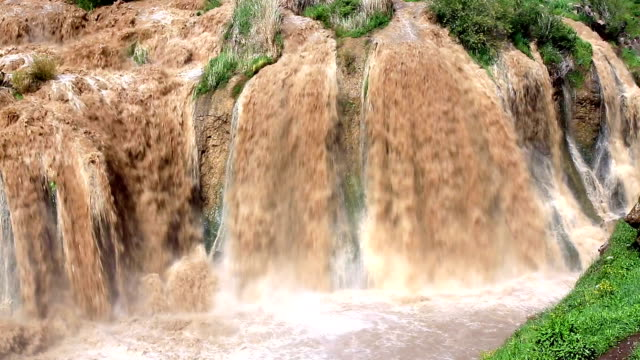 muradiye waterfall, turkey - anatolia stock videos and b-roll footage