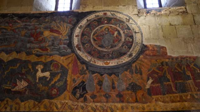 Mural Paintings into Svetitsjoveli Cathedral in Mtskheta city