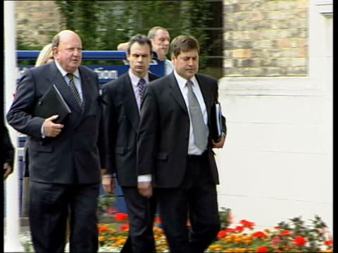 Holly Wells/Jessica Chapman Inquest adjourned ITN ENGLAND Cambridgeshire Cambridge Detective Chief Inspector Andy Hebb along with Coroner David...