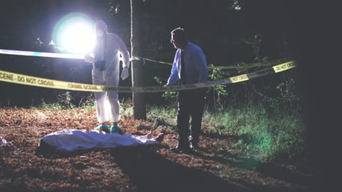 murder in the woods 4k - gory of dead people stock videos & royalty-free footage