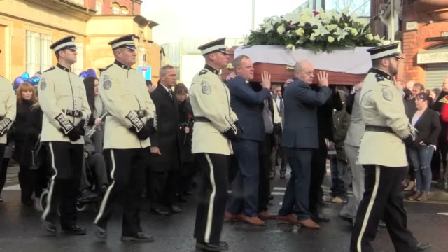 murdered belfast community worker ian ogle died with unparalleled bravery while protecting those he thought were in danger his funeral has heard the... - pastor stock videos & royalty-free footage