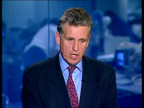 murnaghan owen live studio interview sot wilcox live in newsroom sot - the queen has been informed of princess diana's death / the queen and prince... - dice stock videos & royalty-free footage