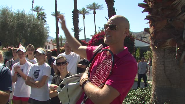 Murphy Jensen at the 6th Annual KSwiss Desert Smash at La Quinta CA