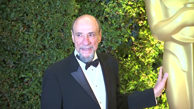 f murray abraham at academy of motion picture arts and sciences' governors awards in hollywood ca on - academy of motion picture arts and sciences stock videos & royalty-free footage