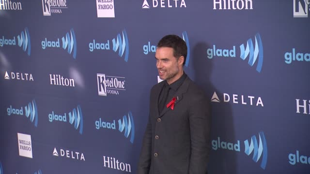 murray bartlett at the 26th annual glaad media awards at the beverly hilton hotel on march 21 2015 in beverly hills california - the beverly hilton hotel stock videos & royalty-free footage
