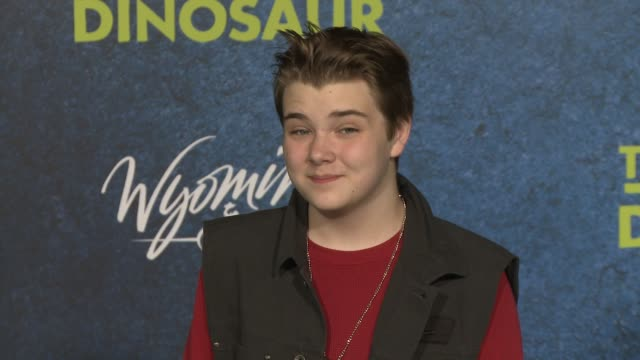 murray wyatt rundus at the good dinosaur world premiere at the el capitan theatre on november 17 2015 in hollywood california - el capitan theatre stock videos and b-roll footage