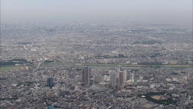 Musashi-Kosugi Station Area In Tokyo Suburbs