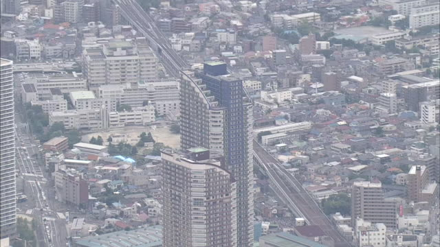 musashi-kosugi station area in tokyo suburbs - 1 minute or greater stock videos & royalty-free footage