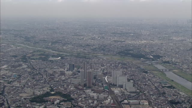 musashi-kosugi station area in tokyo suburbs - tall high stock videos & royalty-free footage