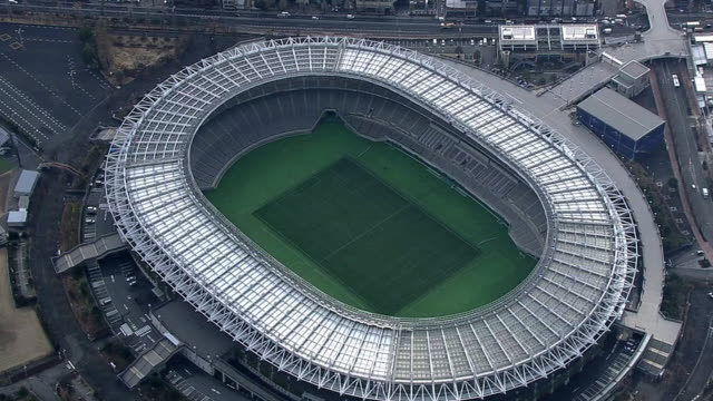 AERIAL, Musashino Forest Sport Center And Tokyo Stadium, Japan