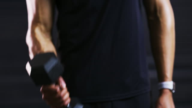 muscles don't just appear out of nowhere - self discipline stock videos & royalty-free footage