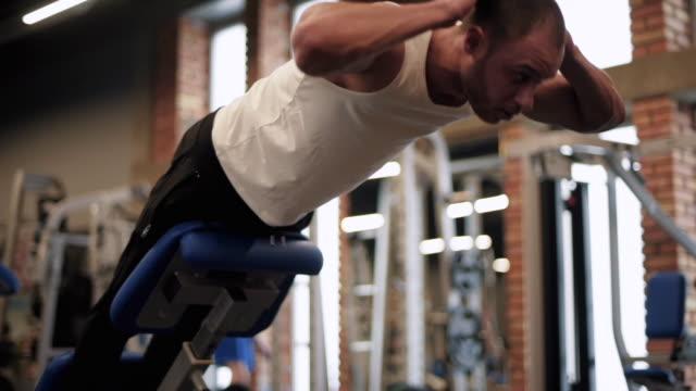 muscles/ mielec/ poland - podkarpackie voivodeship video stock e b–roll