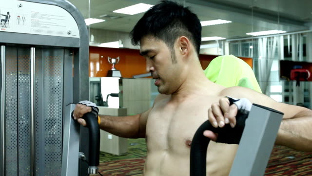 muscular male torso - pectoral muscle stock videos and b-roll footage