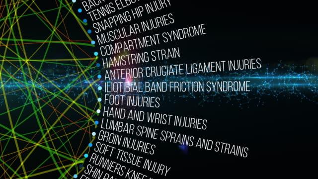 vidéos et rushes de blessures musculo-squelettiques - pression physique