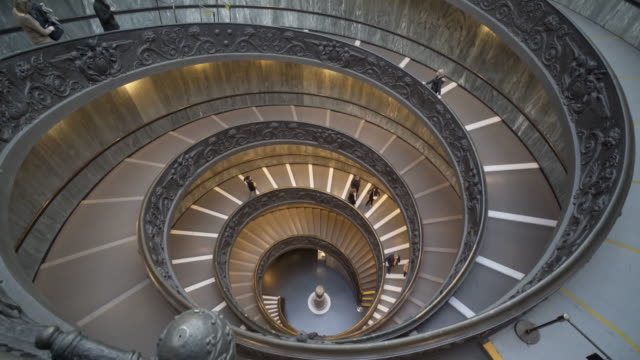 muse vatican - design stock-videos und b-roll-filmmaterial