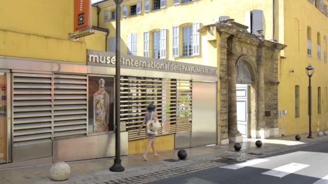 Musee international de la Parfumerie in old town of Grasse