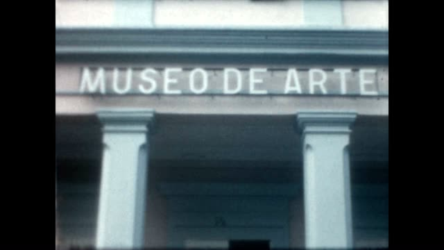 stockvideo's en b-roll-footage met museo de la historia de ponce and parque de bombas the plaza las delicias - neoklassiek