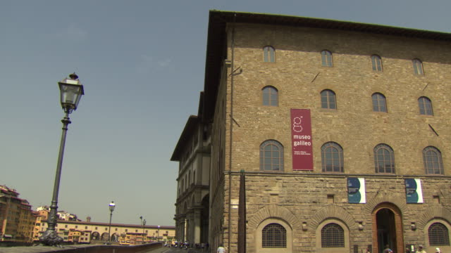 museo galileo, florence, italy - galileo galilei stock videos & royalty-free footage