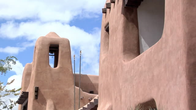 zo ms museum of fine arts santa fe, new mexico, usa - puebloan peoples stock videos & royalty-free footage