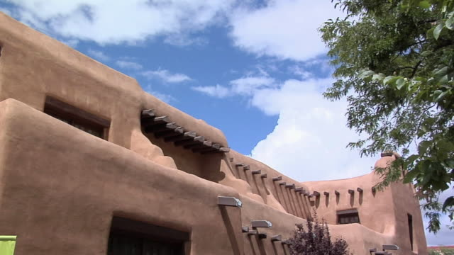 cu pan museum of fine arts santa fe, new mexico, usa - puebloan peoples stock videos & royalty-free footage