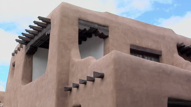 cu zi museum of fine arts santa fe, new mexico, usa - puebloan peoples stock videos & royalty-free footage