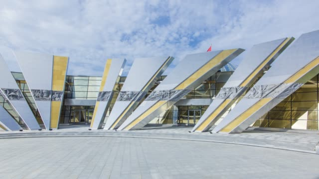 Museum of the History of the Great Patriotic War, Minsk, Belarus - time lapse
