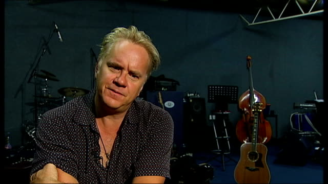 Actor Tim Robbins to tour with folk band Tim Robbins interview SOT Didn't feel it was right until now it felt disingenuous Felt disingenuous to take...